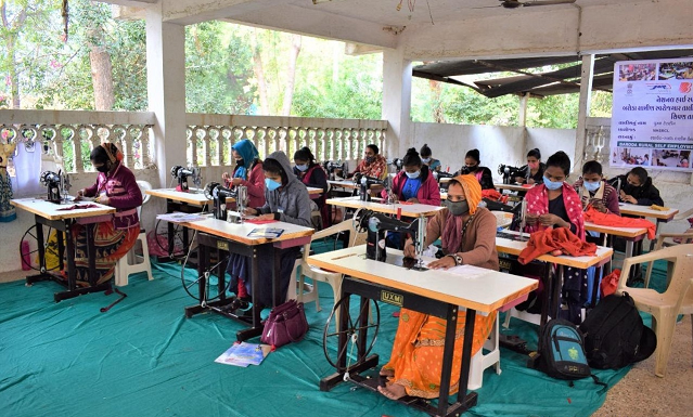 Tailoring Course for Project Affected Families at Anand, Gujarat